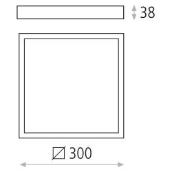 Plafoniera Aparenta SKY BOX 3234/30 ACB Spania