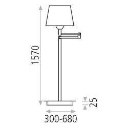 Lampadar DION 8022 Pie ACB Spania