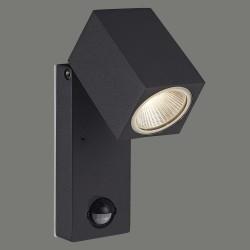 Aplica Exterior Cala ACB, Led, Gri inchis, Modern, A201810GR, Spania