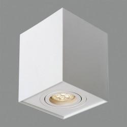 Downlight Aplicat Carre ACB, GU10, Alb, Modern, P376210B, Spania