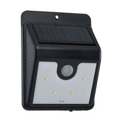 Lampa Cu Senzor De Miscare Solara Led Eglo 48636 4X0.1W 6000K, Negru