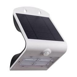 Aplica Solara Cu Senzor Zi/Noapte Eglo Lamozzo 98757, Solar-Led 3.2W 440Lm 3000K, 4000K, 6000K Ip44, Plastic, Transparent