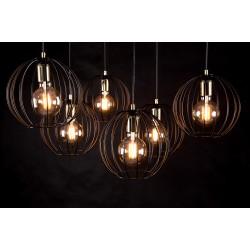 Aplica Albio K1 Black 144/K1 Emibig Lighting, Modern, E27, Polonia