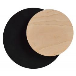 Aplica Arhitecturala Circle 1A Black 970/2 Emibig Lighting, Modern, G9, Polonia