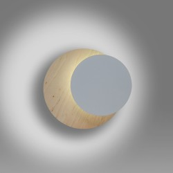 Aplica Arhitecturala Circle 1B White 971/1 Emibig Lighting, Modern, G9, Polonia