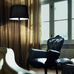 Lampadar Ideal Lux London Pt1 Nero E27, Negru, 110240, Italia