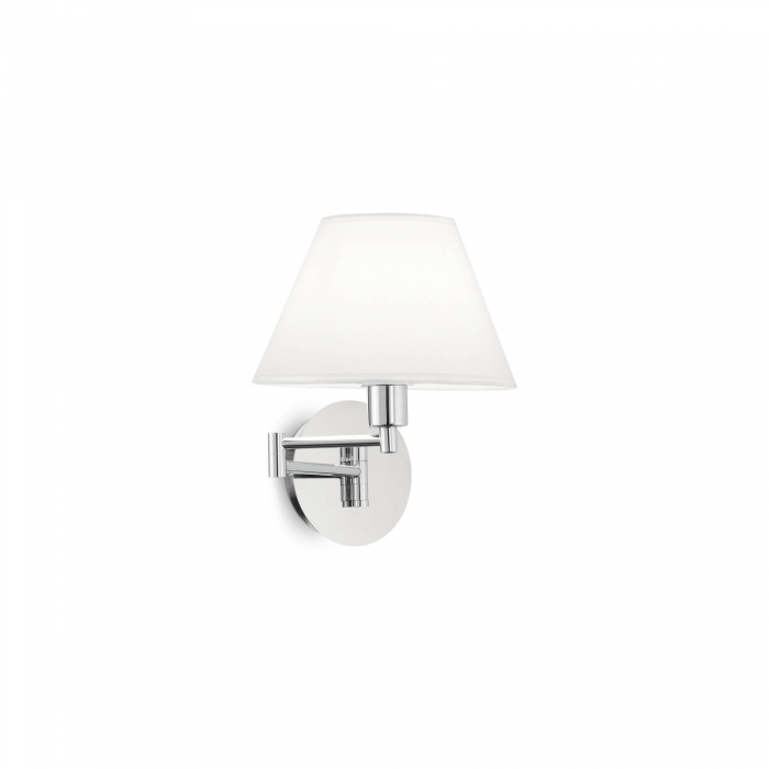 Aplica BEVERLY AP1 CROMO 126784 Ideal Lux