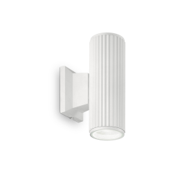 Aplica Exterior BASE AP2 BIANCO 129457 Ideal Lux