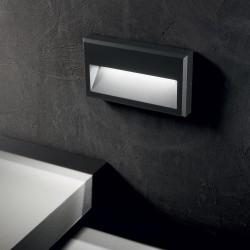 Aplica Scara Ideal Lux Febe-1 Ap Antracite Led, Antracit, 250854, Italia