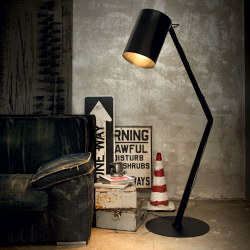Lampadar BIN PT1 NERO 144849 Ideal Lux