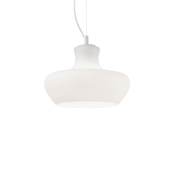 Pendul ALADINO SP1 D30 BIANCO 137315 Ideal Lux