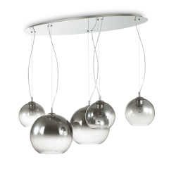 Suspensie DISCOVERY FADE SP5 138305 Ideal Lux