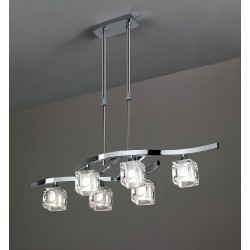 Lampa Telescopica CUADRAX CHROME 0955 Mantra