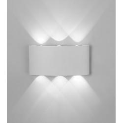 Aplica Exterior Arcs LED, Alb, 6541, Mantra Spania