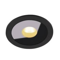 Downlight Circular Incastrat Plazma H0088 Max Light, Led , Negru , Polonia