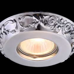 Downlight Circular Metal Classic Maytoni GU10, Crom, DL300-2-01-CH, Germania