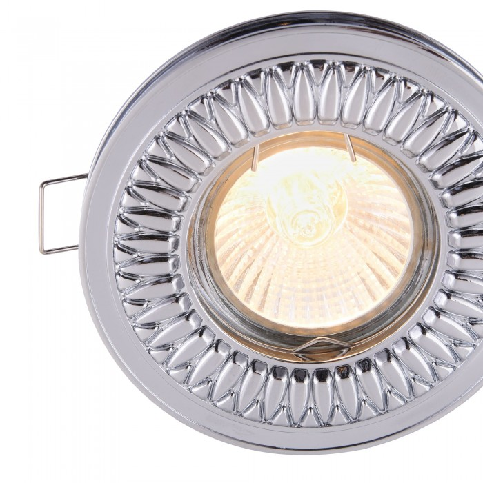 Downlight Circular Metal Classic Maytoni GU10, Crom, DL301-2-01-CH, Germania