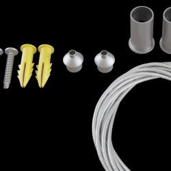 Accesoriu Sina Magnetica Accessories for tracks Maytoni -, Argintiu, TRA004SW-21S, Germania