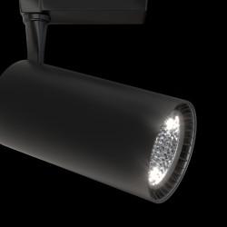 Downlight Sina Track lamps Maytoni Led, Negru, TR003-1-40W3K-B, Germania