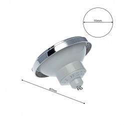 PLAZA LIGHT SOURCE Milagro Modern, LED, Crom, EKZA1533, Polonia