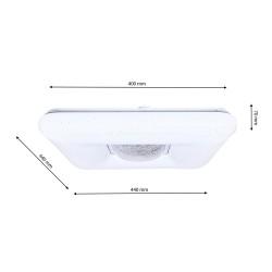Plafoniera YAX Milagro Modern, LED, Alb, ML4402, Polonia