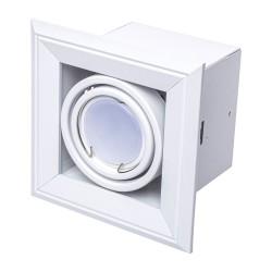 Downlight Patrat BLOCCO Milagro Modern, LED, Alb, ML471, Polonia