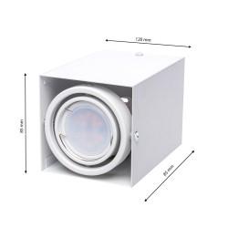Downlight Patrat BLOCCO Milagro Modern, LED, Alb, ML476, Polonia