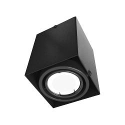 Downlight Patrat BLOCCO Milagro Modern, LED, Negru, ML477, Polonia