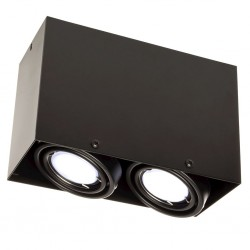 Downlight Patrat BLOCCO Milagro Modern, LED, Negru, ML479, Polonia