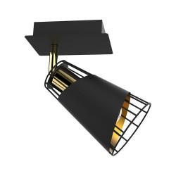 Lustra Plafon RICK Milagro Modern, E14, Negru, ML5565, Polonia