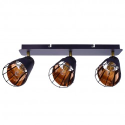 Lustra Plafon RICK Milagro Modern, E14, Negru, ML5567, Polonia