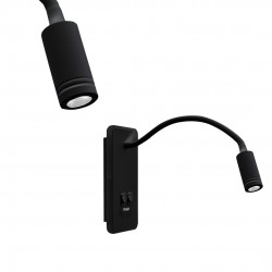 Aplica Citit BASE Milagro Modern, LED, Negru, ML63500, Polonia