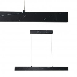 Suspensie PIERCE Milagro Modern, LED, Negru, ML6473, Polonia