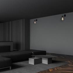 Aplica COLIN BLACK Milagro Modern, E27, Negru, MLP4788, Polonia