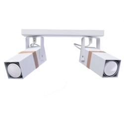 Lustra Plafon VIDAR WHITE Milagro Modern, GU10, Alb, MLP5406, Polonia