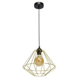 Pendul LUPO Milagro Modern, E27, Negru, MLP6270, Polonia