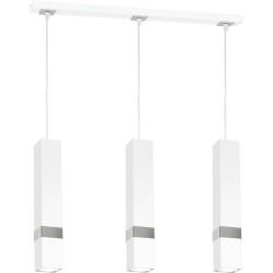 Suspensie VIDAR Milagro Modern, GU10, Alb/Crom, MLP6284, Polonia