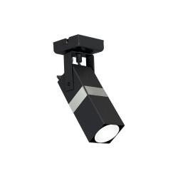 Lustra Plafon VIDAR Milagro Modern, GU10, Crom/Negru, MLP6285, Polonia