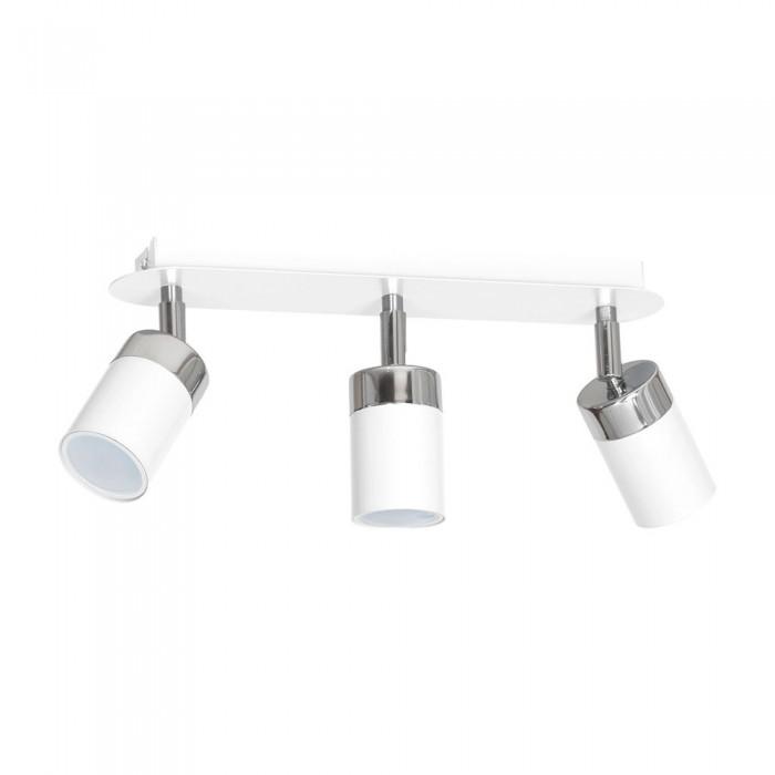 Lustra Plafon JOKER WHITE Milagro Modern, GU10, Alb, MLP900, Polonia