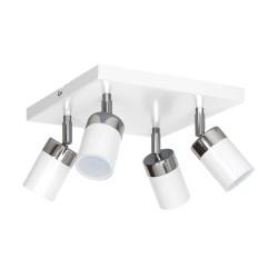 Lustra Plafon JOKER WHITE Milagro Modern, GU10, Alb, MLP907, Polonia