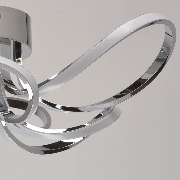 Lustra Plafon  MW Lighting Led, Crom, 496015006, Germania