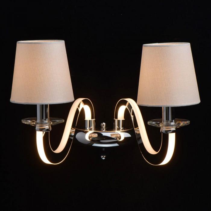 Aplica  MW Lighting E14 + Led, Crom, 659021402, Germania