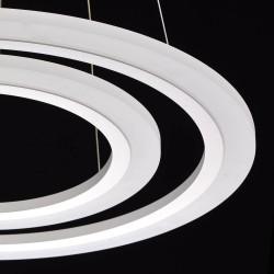 Suspensie  MW Lighting Led, Alb, 661014802, Germania