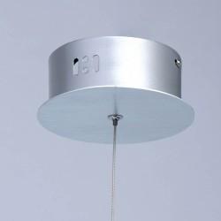 Pendul  MW Lighting Led, Argint, 730010101, Germania