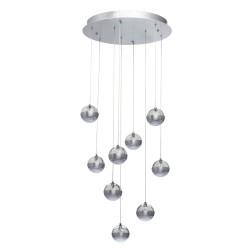 Suspensie  MW Lighting Led, Argint, 730010209, Germania