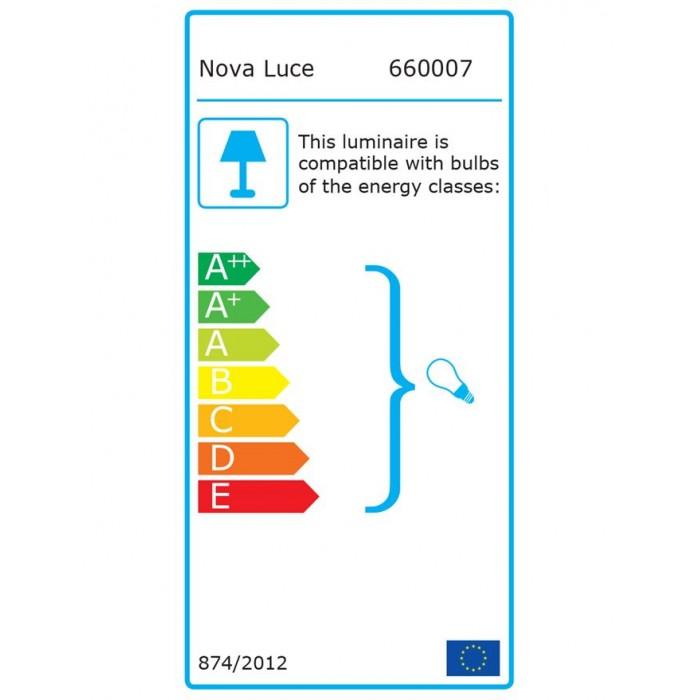 Lustra Spot BASE Nova Luce Modern, GU10, 660007, Grecia