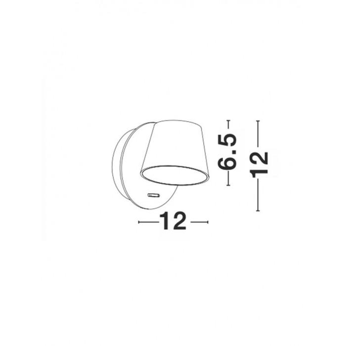 Aplica AMADEO Nova Luce Modern, Led, 8223601, Grecia