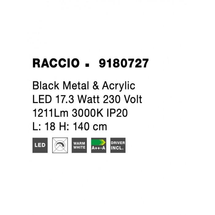 Lampadar RACCIO Nova Luce Modern, Led, 9180727, Grecia