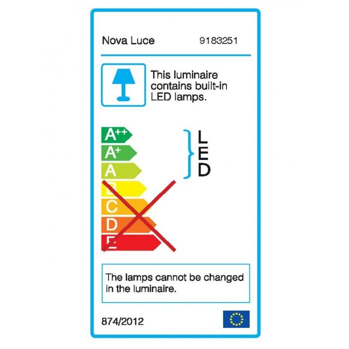 Lampadar HANDY Nova Luce Modern, Led, 9183251, Grecia