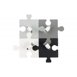 Aplica Camera Copilului Puzzle Gray Iv Nowodvorski GU10, Multicolour, 9728, Polonia